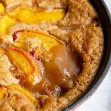 Bisquick™  Peach Cobbler Recipe