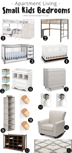 Apartment Living | Small Kids Bedroom Ideas & Must-Haves