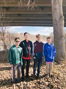 Teens spread word about ice and river safety