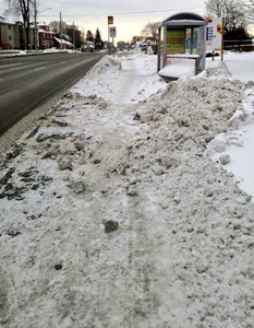 Abominable Snow Maintenance and its Implications on Community Accessibility