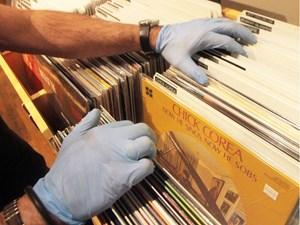 For the record: Caution a big concern for Edmonton's very hands-on vinyl music stores