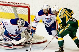 Defending champs set to take on Oilers rookies