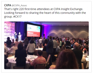 What I Learned About Customer Experience at the CXPA's 2017 Insight Exchange - Blog – Frank Reactions