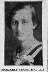 Margaret Crang: the AOC of #yegcc circa 1933
