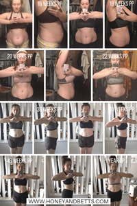 Baby Weight Fitness Journey | At-Home Postpartum Workout Programs To Help Rebuild Your Core And Lose Baby Weight