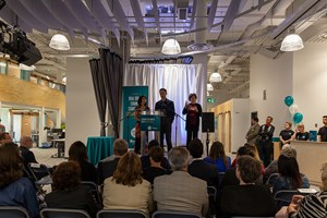 Roundhouse coworking space is now open inside MacEwan University's Allard Hall