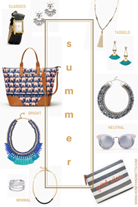 Summer Accessories To Compliment All Your Outfits | Stella & Dot Sale & Dot Dollars