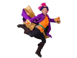The Purple Pirate in The Magic Pirate Ship at The Arden Theatre