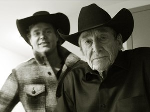 Wildlife: Corb Lund and Ian Tyson make beautiful music together at the Jube
