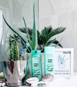 #IYGAReviews: Garnier Fructis Hydra Purify Shampoo + Conditioner (YES or NAH?)