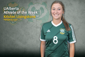 Kristen Livingstone is the U of A Athlete of the Week