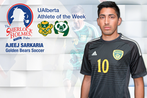 Ajeej Sarkaria is the Sherlock Holmes Athlete of the Week