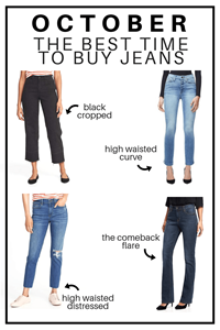 What Month Is The Best To Buy High Waisted Jeans?