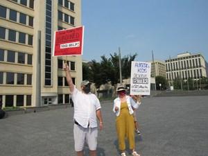 Anti-UCP Protest