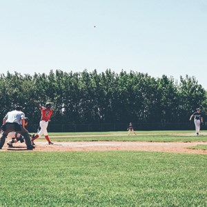theblanketfort:  Beautiful day for a ballgame, he's playing two!...