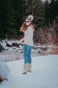 Exploring in Winter