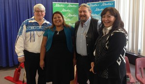 Alberta men stand together against violence toward Aboriginal women