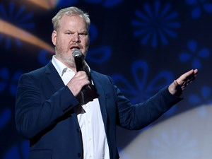 Comic relief: Gaffigan's clean comedy centred around family, food and fatherhood