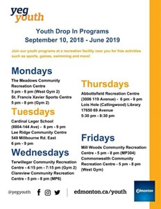 Youth Rec Centre Drop In Program