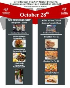 October 28th Concessions