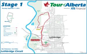 Tour of Alberta will cause temporary road closures