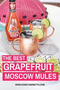 The Best Grapefruit Moscow Mule Recipe