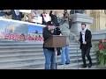 Speech at Hands Off Jerusalem Rally