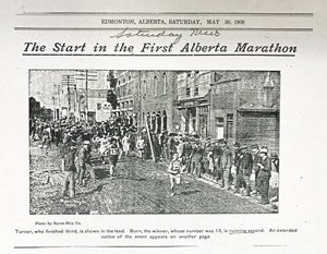 Running in Edmonton: past and present