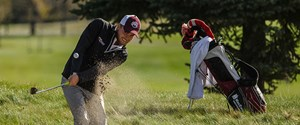 Belland wins second-straight ACAC golf tourney title