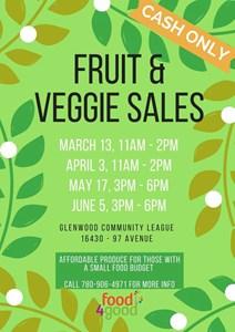 Food4Good Affordable Fruit & Veggie Market – Once a Month Until Summer