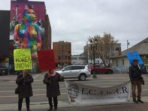 Latest Update: ECAWAR Peace Picket