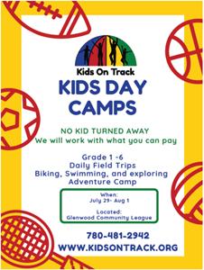 Affordable summer day camps for Glenwood kids