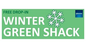 Free Fun in the Snow at the Winter Green Shack Programs