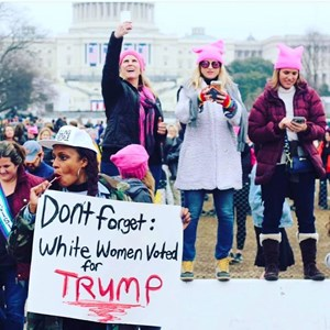 Where have I been before today? Reflections on the #WomensMarch.