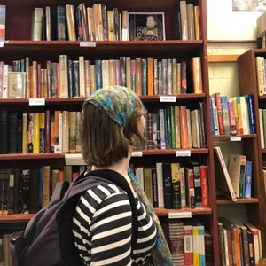 We may have visited every bookstore in Sidney. Thus it is a good...