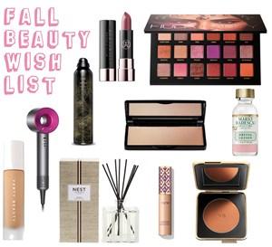 Fall Beauty Wish List
