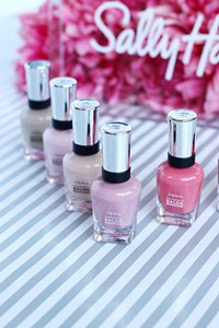 Pretty In Pink | From Base To Top Coat With Sally Hansen