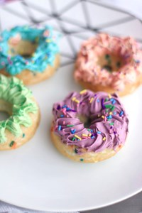 The Not-So Secret Secret to Easy Baked Doughnuts Made With Cake Mix