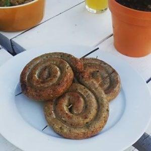 Greek Lamb Sausage