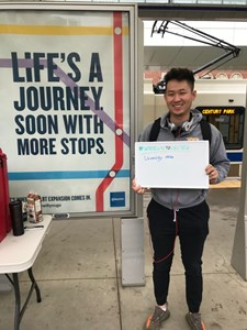 LRT expansion celebrates back to school with chance to win