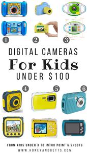Best 2018 Digital Cameras For Kids Under $100