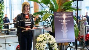 Vigil shines light on violence against women: Statement