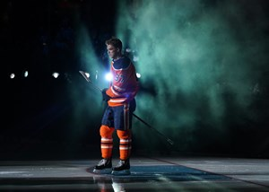 Edmonton Oilers C Connor McDavid loses fastest skater competition