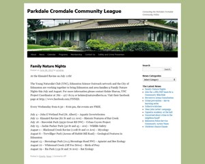 Parkdale Cromdale Community League
