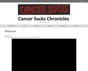 Cancer Sucks Chronicles