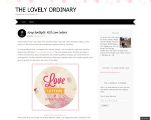 the lovely ordinary