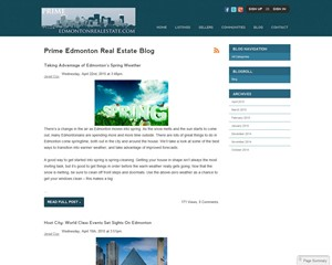 Prime Edmonton Real Estate Blog