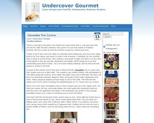 Undercover Gourmet