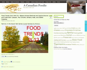 A Canadian Foodie