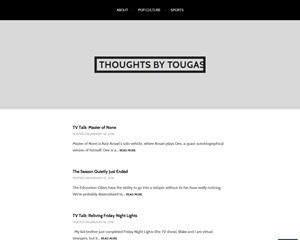 Thoughts By Tougas